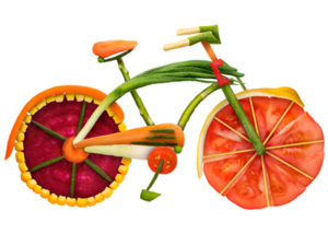 veggie bicycle image